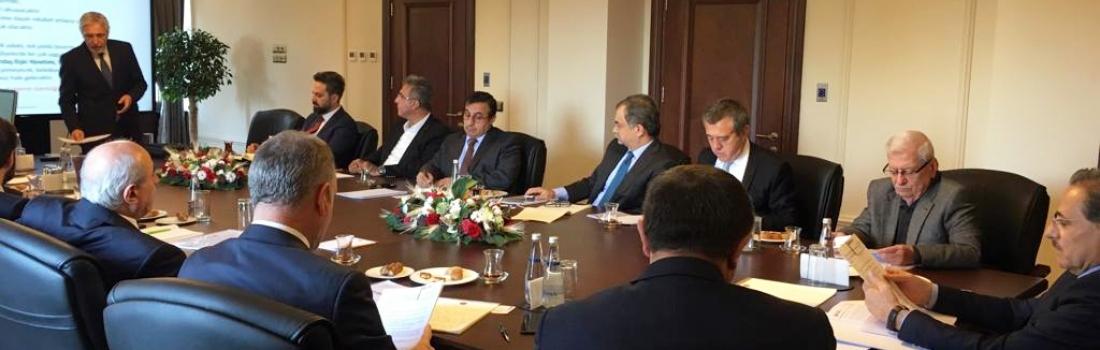 Cumhurbaşkanlığı Yerel Yönetim Politikaları Kurulu'na sunum yapıldı.