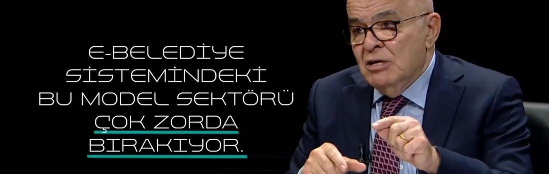 e-Belediye Konusu TVnet Kanalında Konuşuldu